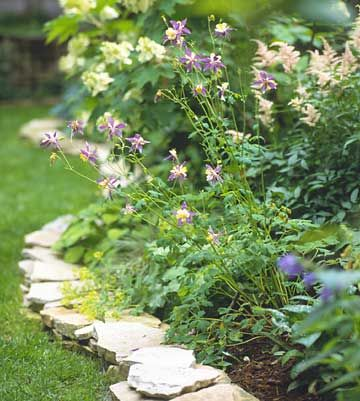 Nice flower-bed border Clean and pretty The Great Outdoors