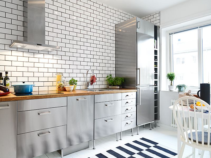 Je Veux Etre Suedoise With Images Ikea Kitchen Design Steel