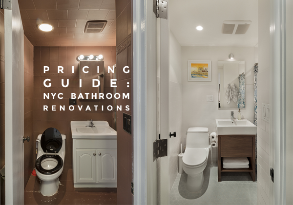 2019 Bath Renovation Costs In Nyc Bathroom Renovation Cost Home Renovation Costs Bathroom Design Small
