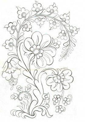 Madonna lily Another Turkish design to embroider #
