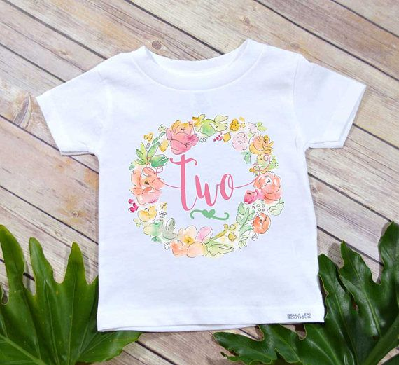 Second Birthday Shirt Boho Two 2nd Custom Set