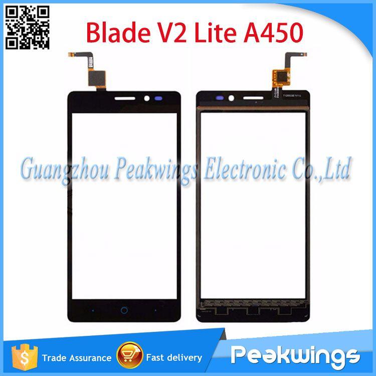 Touch sensor für zte blade v2 lite a450 touchscreen digitizer panel code auf flex lcfb0501103 & t120533e1v1.0