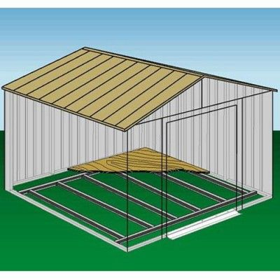 Arrow Floor Frame Kit 5x4 6x5 Storage Sheds Steel Sheds Shed Floor Shed Storage