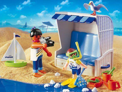 PLAYMOBIL® 3660 - Strandkorb DIY Playmobil Pinterest - playmobil badezimmer 4285