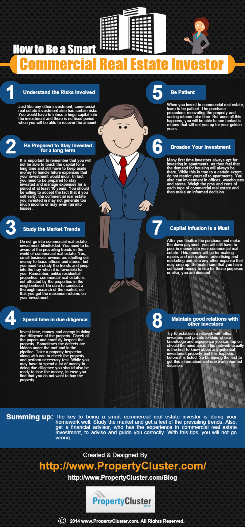 The Key To Being A Smart Commercial Real Estate Investor Is Doing Your Homework Well