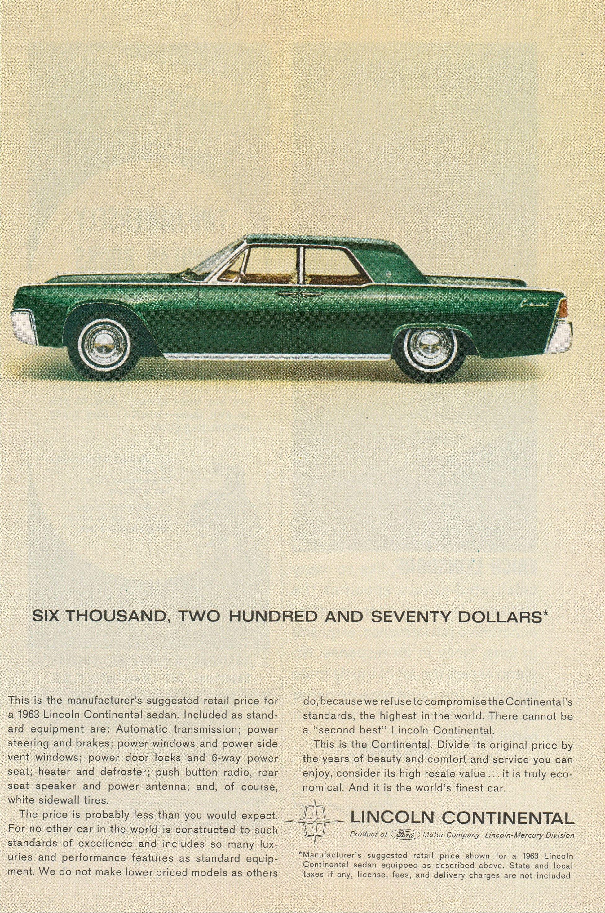 1966 LINCOLN CONTINENTAL Hardtop /& Convertible Car Vintage Look METAL SIGN