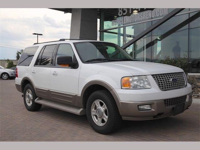 004 Ford Expedition Eddie Bauer SUV Exterior Color: Oxford White Clearcoat Interior  Color: Tan Stock Number: 1869 Mileage: Engine: SOHC Fuel: Gasoline ...