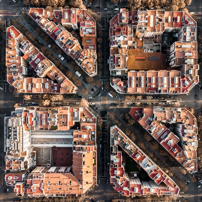 Barcelona From Above By Marton Mogyorosy Captures Aerial Views Of The City Barcelona Architecture Architecture Photography Aerial Photograph