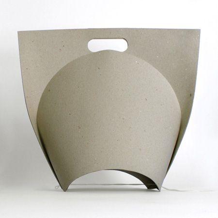 Shopping Bag by Ryszard Rychlicki via dezeen: Made of folded recycled paper. #Paper #ShoppingBag #Ryszard_Rychlicki