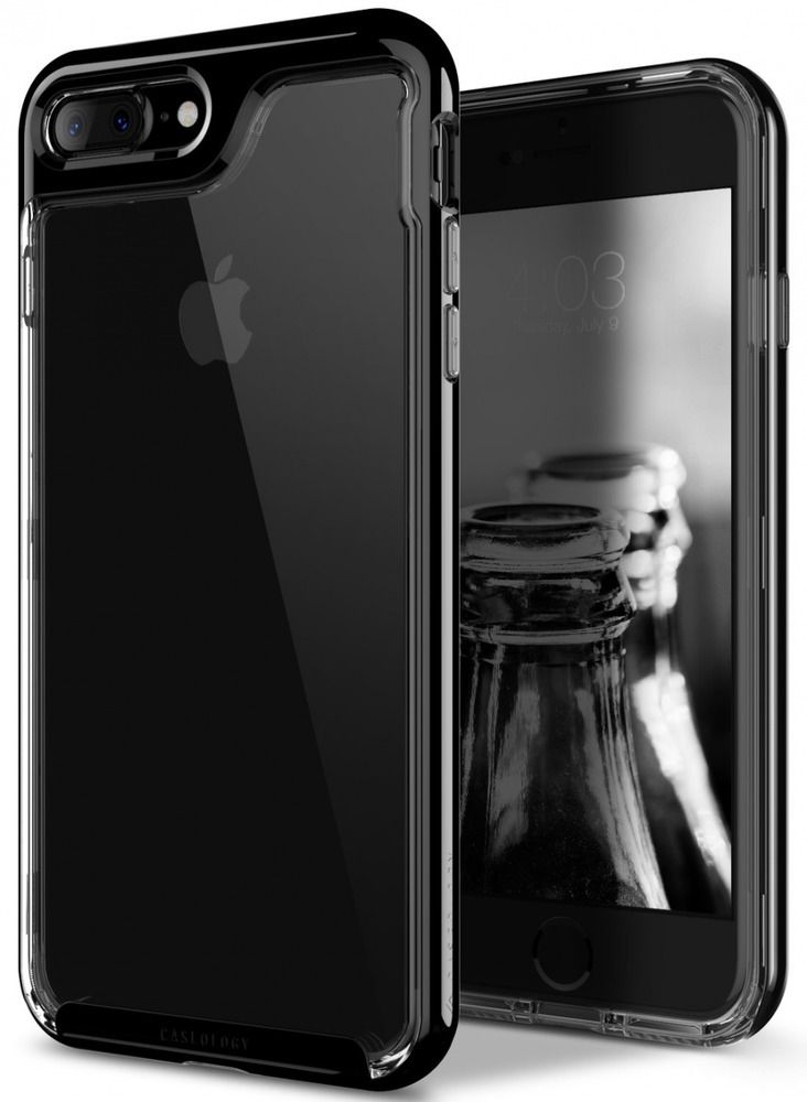 uk availability ecbdc 75ff5 iPhone 7 Plus Case, [Skyfall Series] Transparent Clear Enhanced Grip ...