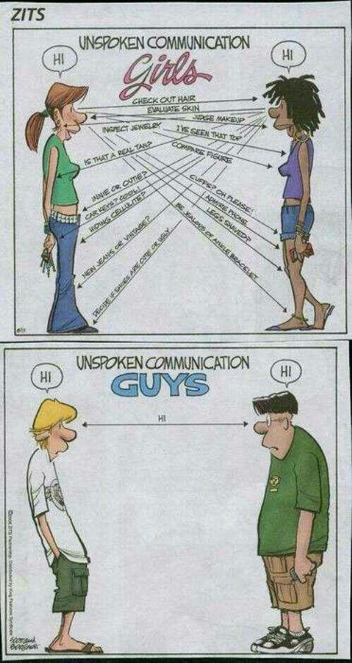 Communication guys vs girls