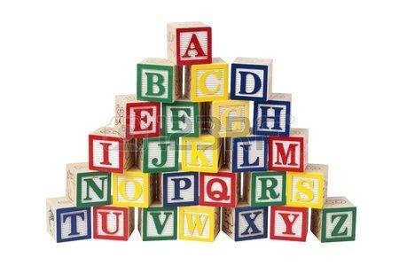 houten alfabet blokken - Google zoeken