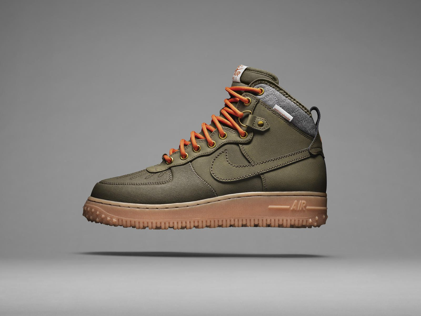 Nike Air Force 1 Bottes Femmes Couleur Rouille