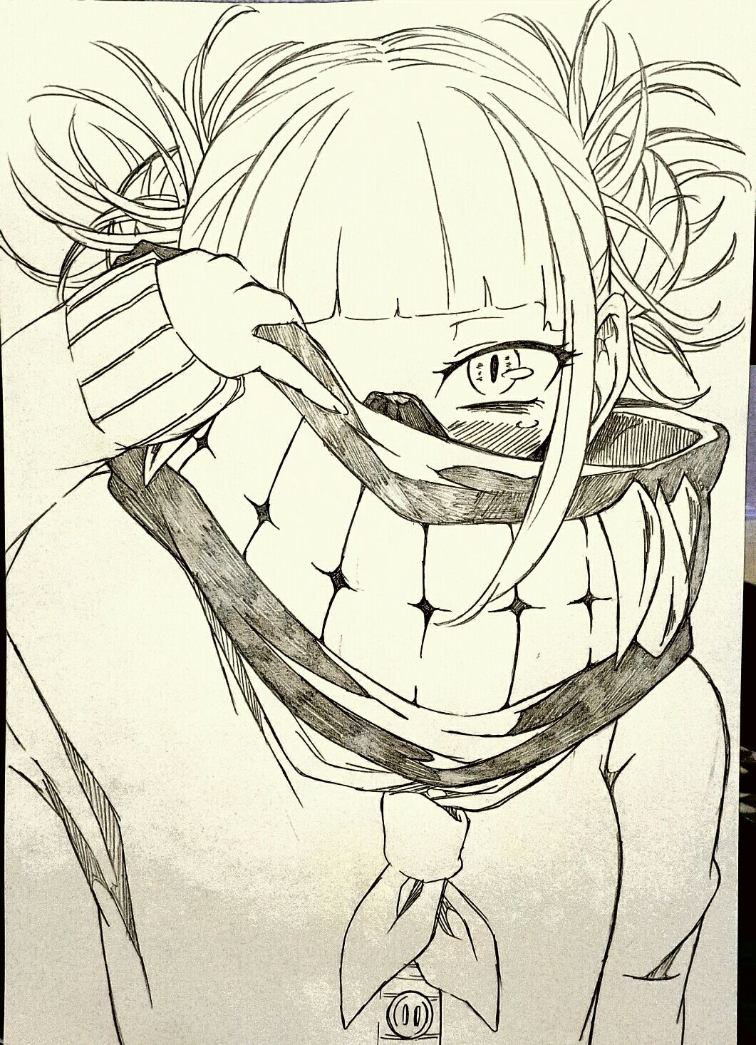 Dibujos Anime: Himiko Toga (Dibujo/Drawing) By 翔