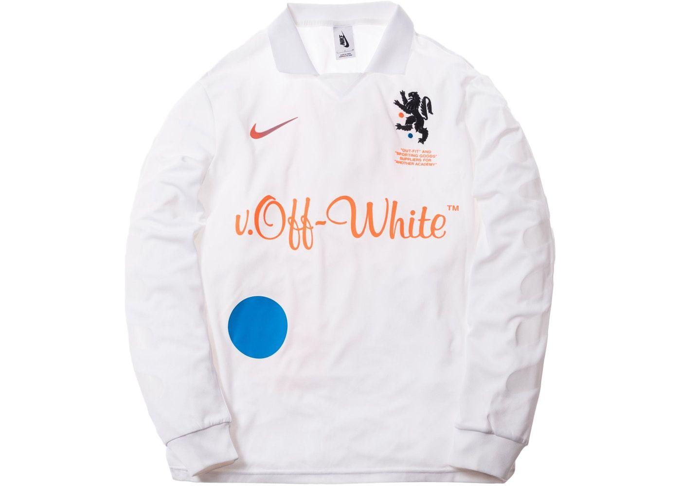 Nikelab x OFF WHITE Mercurial NRG X FB Jersey White   Off