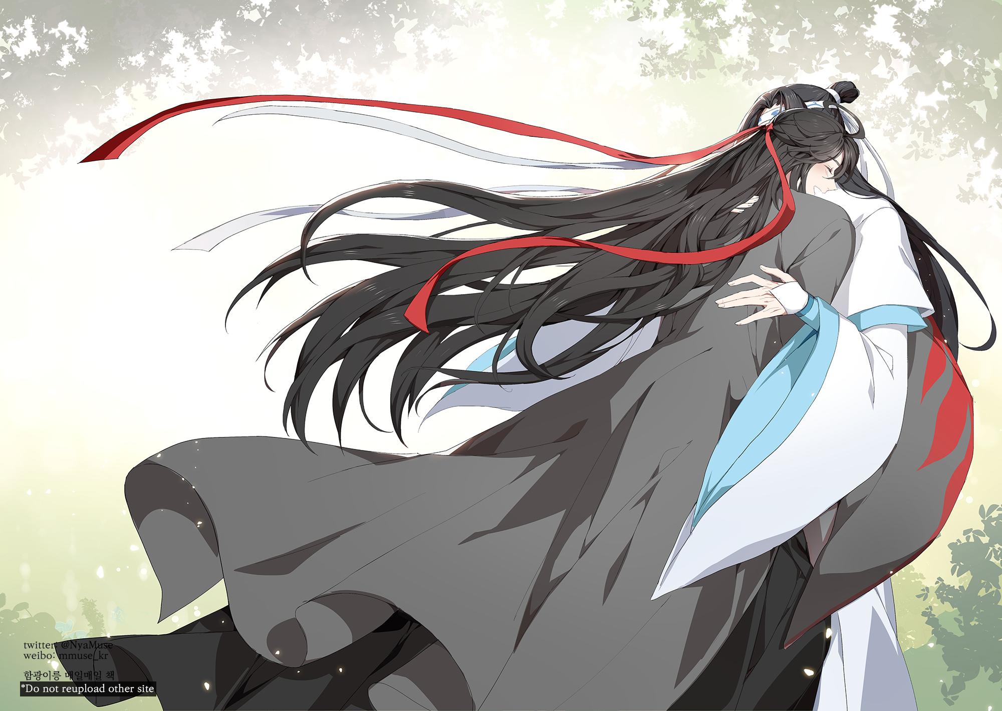운몽박씨뮤즈 on Twitter in 2020 Anime, Fighting demons, Anime guys