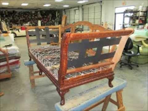 Antique Sofa Upholstery By Joe S Upholstery Va Beach Va Youtube