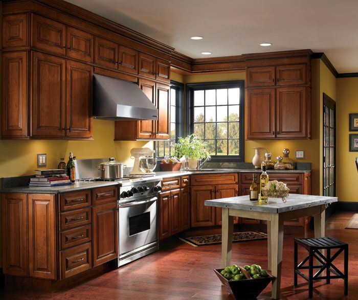 Kitchen Design Cherry Cabinets: Enjoy The Depth Of Color, And Thoughtful Design Of The