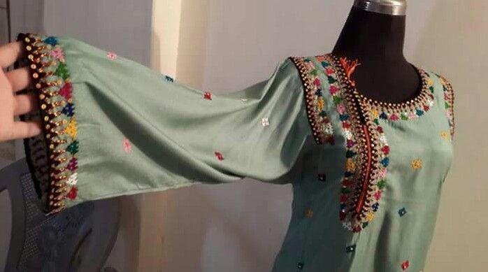 Embroidery Designs For Salwar Kameez