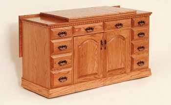 The Sewing Center Country Lane Furniture Sewing Cabinet Sewing Table Lane Furniture
