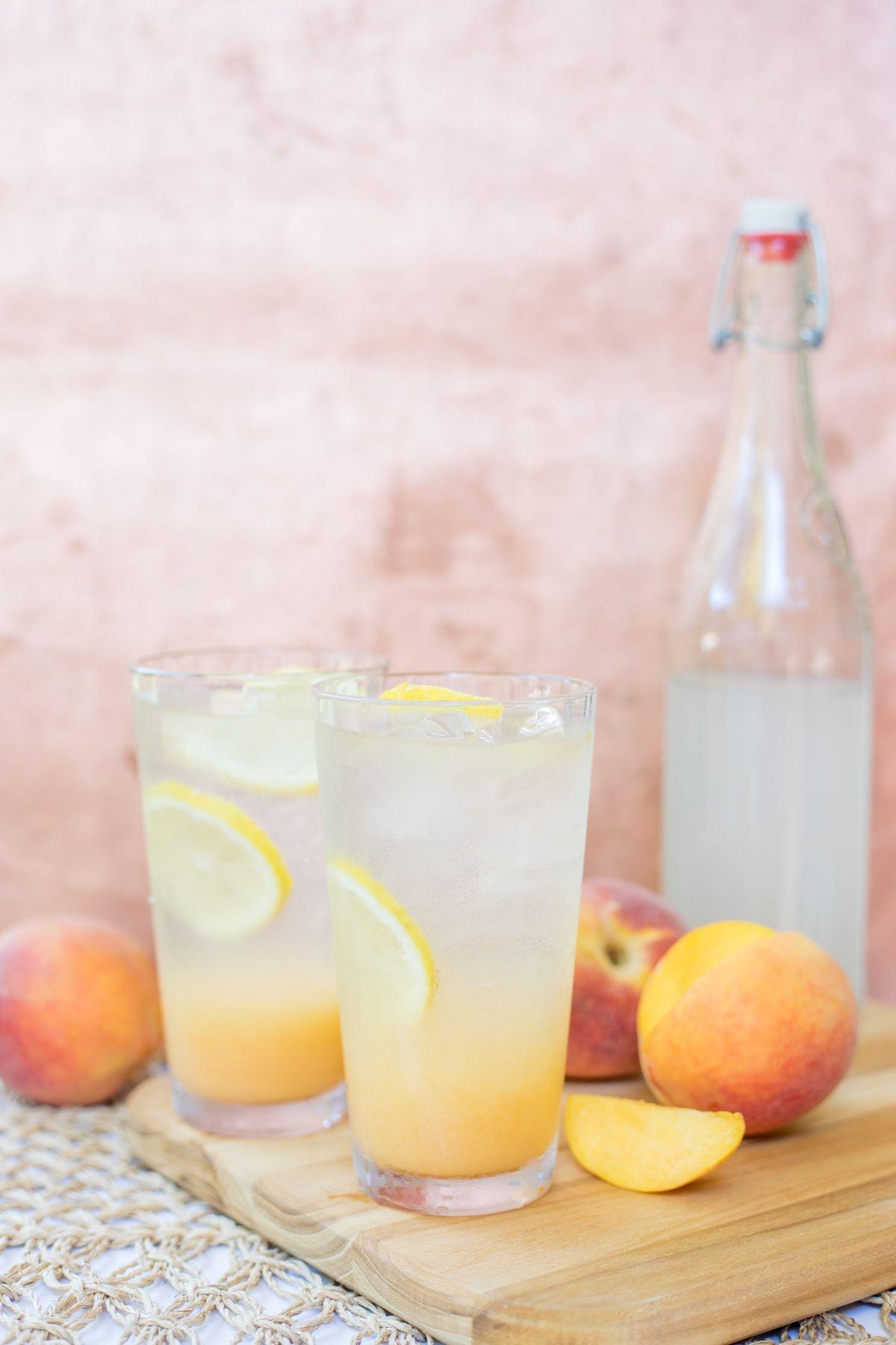 Peaches + Lemonade + YABC = Paradise!