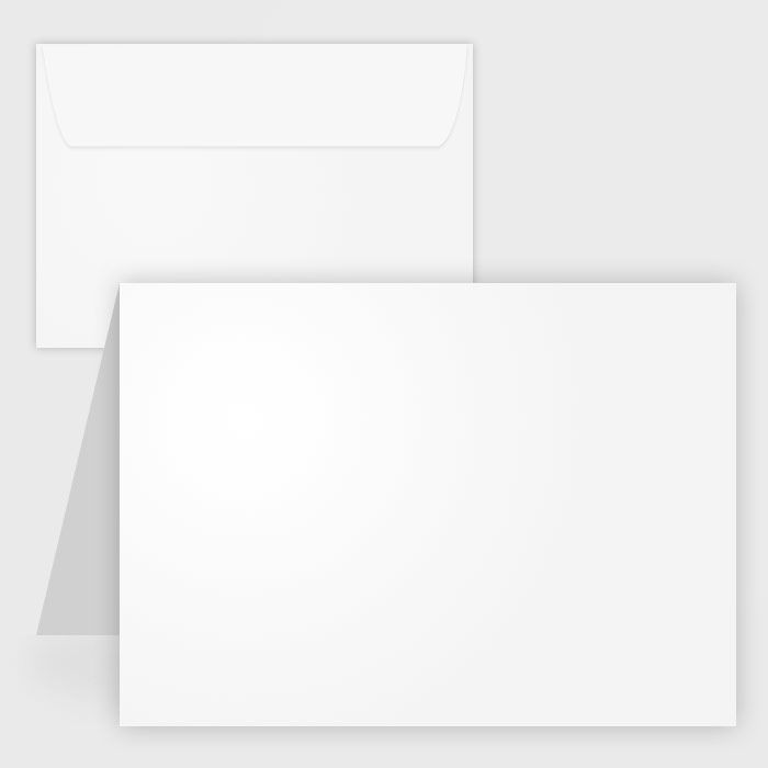 Blank White Matte Note Cards W Envelopes 65 Lb 4 25x5 5 50 Pk Note Card Template Printable Note Cards Card Templates Printable