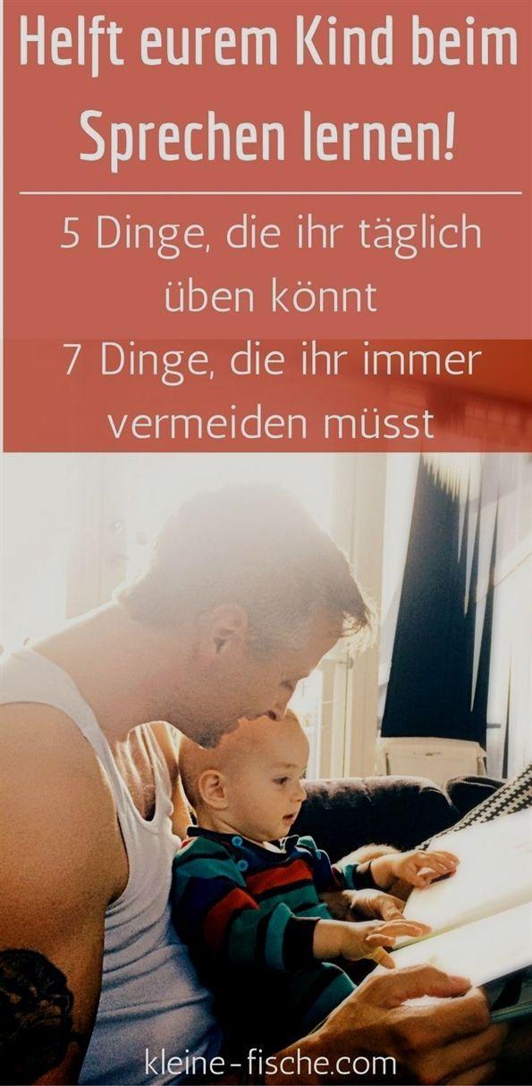 Sprechen lernen ist das Wichtigste für Babys und Kleinkinder. Weil die Sprache ...   - Mutterschaft...
