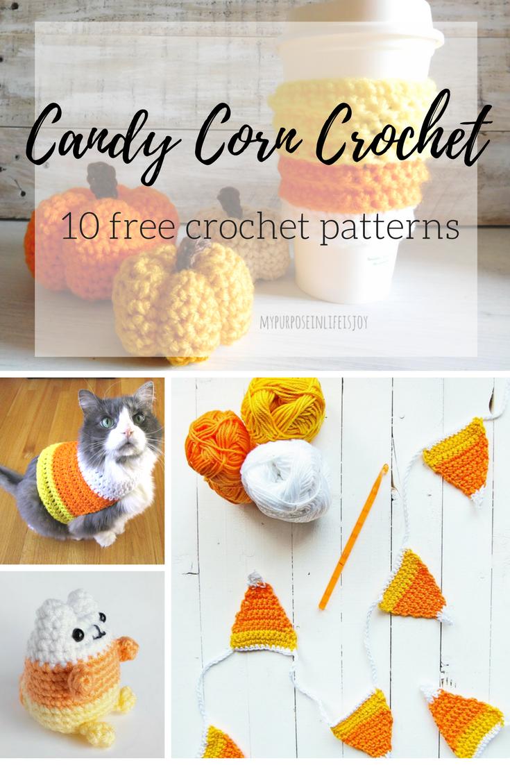 10 Free Crochet Candy Corn Patterns