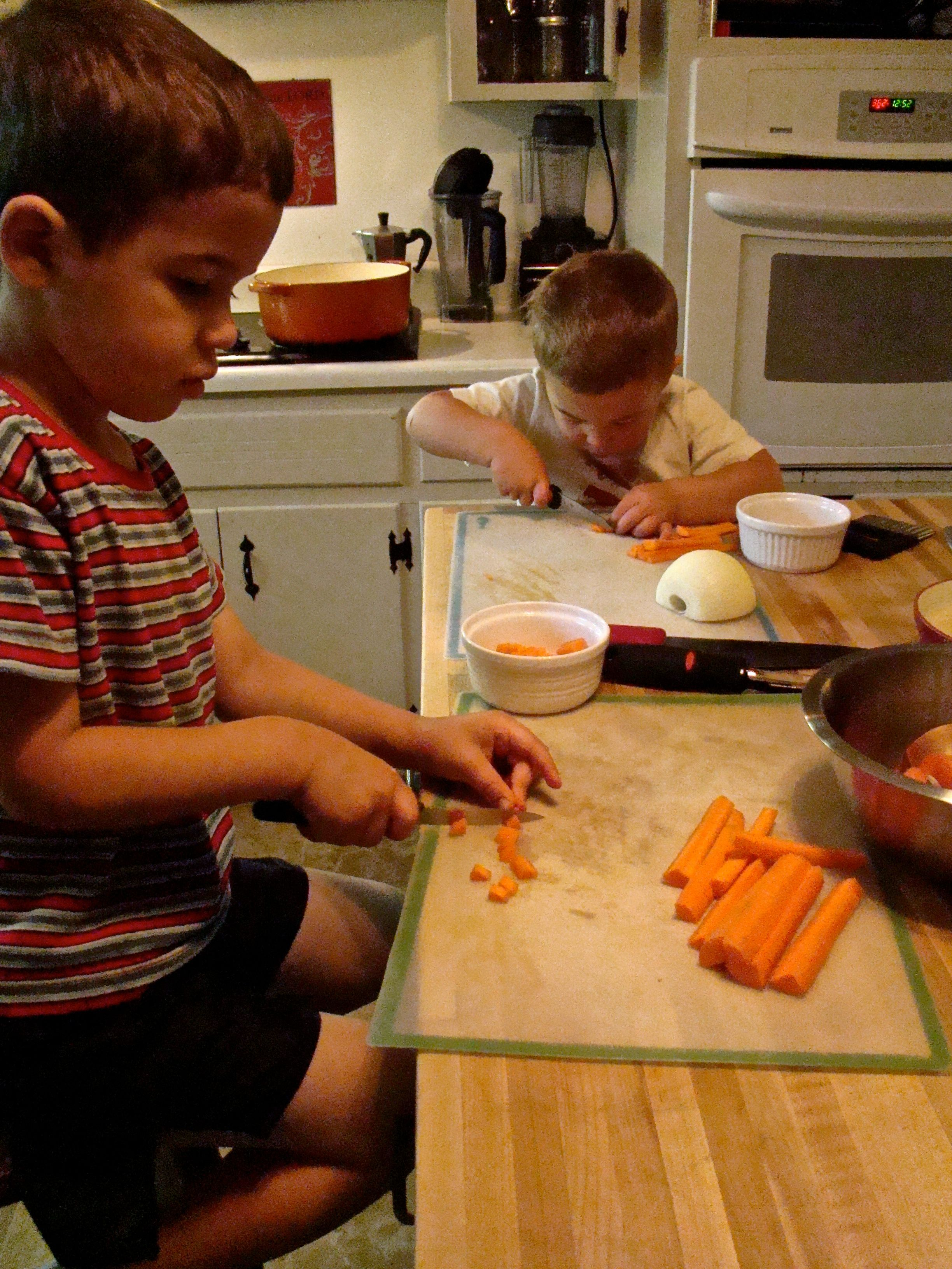 Knife Skills for Little Hands Teaching kids, Cooking club