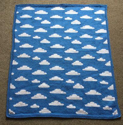 Fluffy White Clouds Knitting pattern by Vikki Bird | Knitting Patterns | LoveKnitting