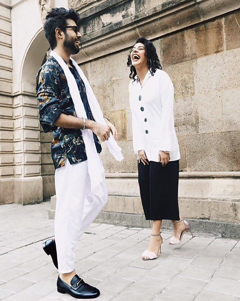 Friends Tarun Nathani And Alishafarrer Are Making Memories In Festive Styles Murat