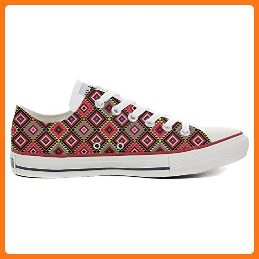 Converse Custom - personalisierte Schuhe (Handwerk Produkt) African Texture  42 EU