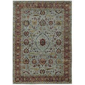 Archer Lane Clark Blue Indoor Area Rug Common 7 X 10 Actual 6 58 Ft W X 9 5 Ft L 715anr5a6l Area Rugs Red Area Rug Rugs