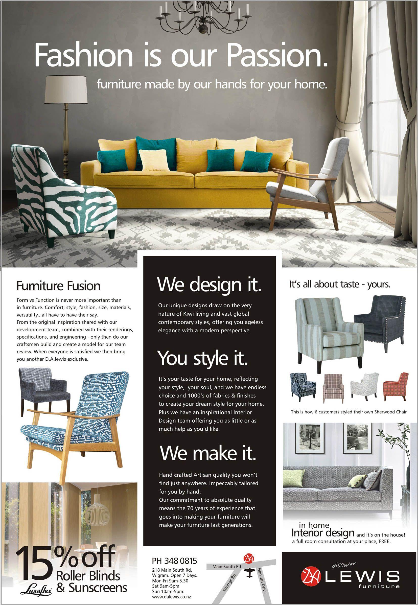Da Lewis Furniture Promotions