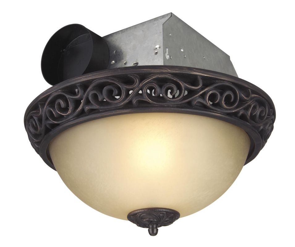 Craftmade Tfv70l A 70 Cfm Ventilation Fan Light Combination From The Ventilati Oil Rubbed Bronze Fans Exhaust