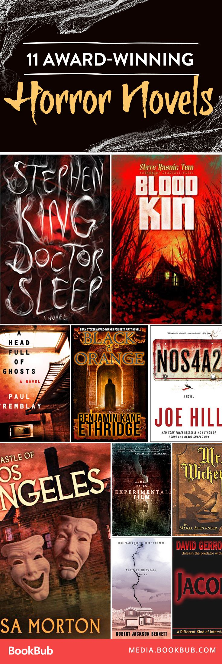 11 AwardWinning Books to Read This Halloween is part of Horror books, Scary books, Books to read, Horror book, Book worth reading, Reading - What better way to celebrate than with a spooky book