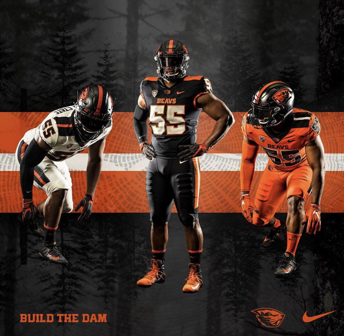 New Uniforms for Oregon State Football uniforms