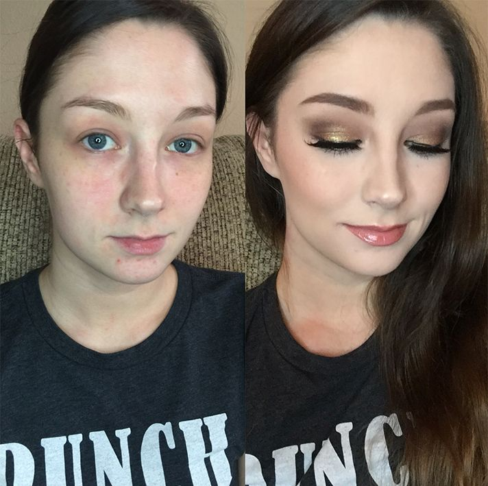 People Are Going Crazy Over This BeforeAndAfter Makeup Photo - Before and after makeup photos
