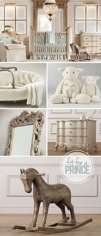 A Nursery Fit for a Prince | Bebé y Bebe
