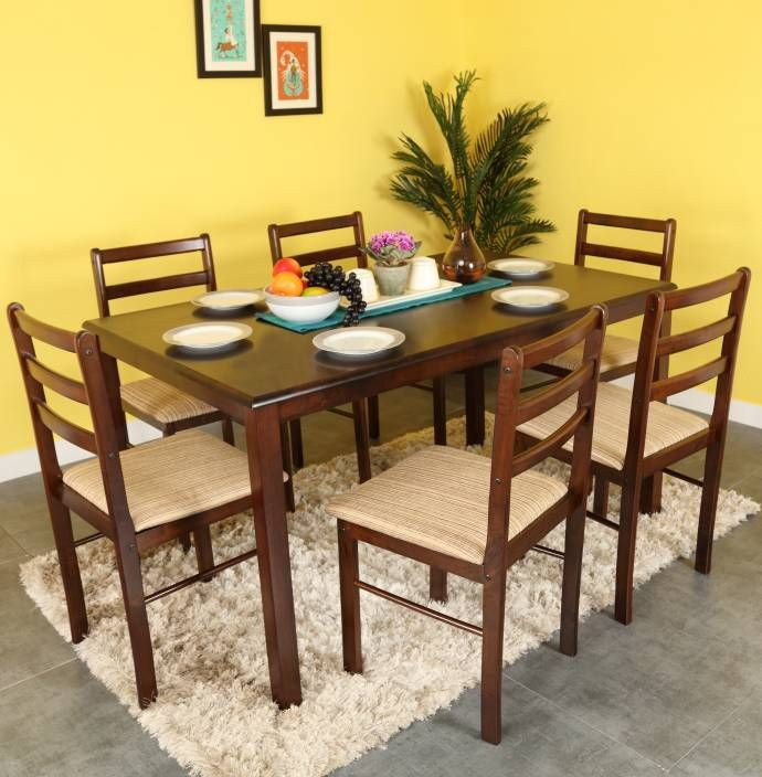 Buy Wooden Dining Sets Online In Indiabuy Wild Range Of Wooden New Dining Room Sets Online Decorating Inspiration