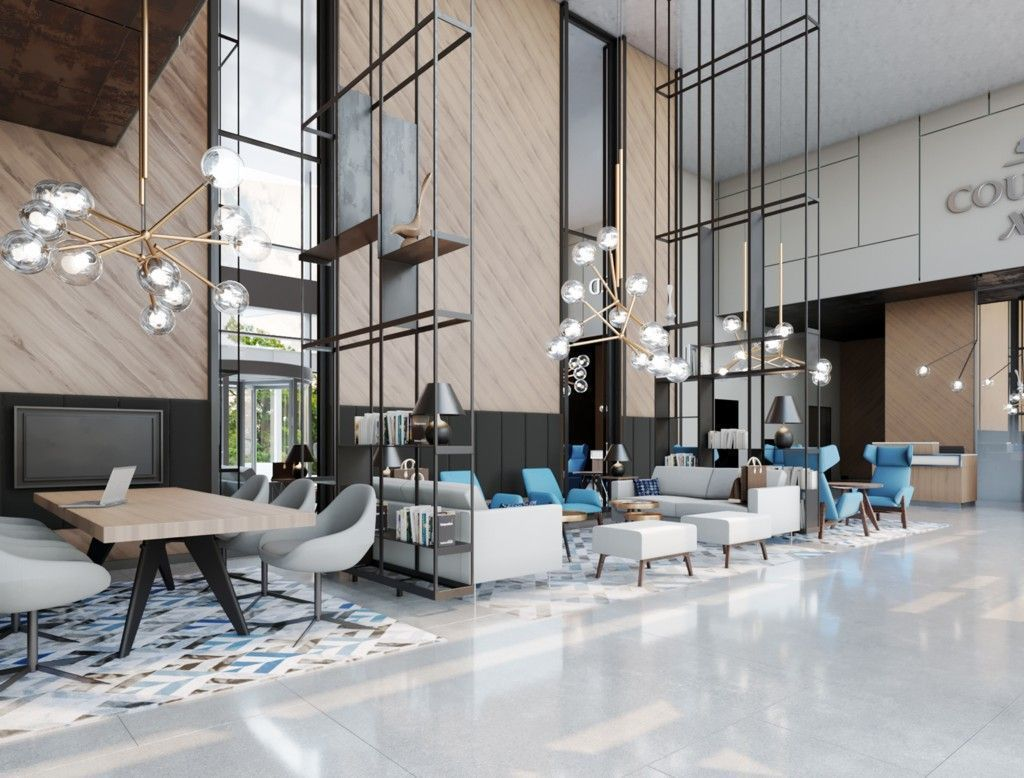 For A Trendy Hotel: The Perfect Mid-century Style Lighting