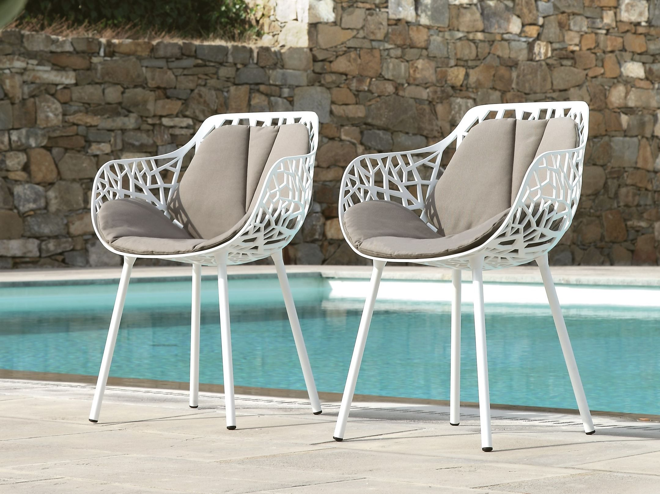 Garden chair with armrests FOREST | Chair with armrests - FAST ...