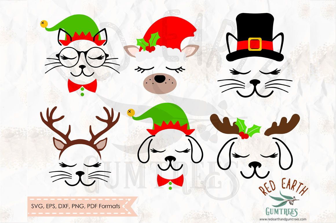Pin by Amber OttJohnson on Svg files Christmas cats