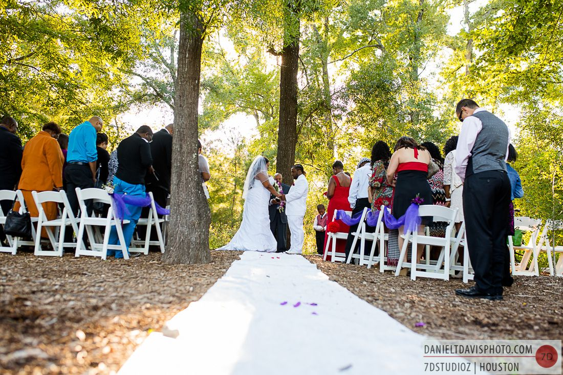 Reception On The Houston Arboretum Lawn Outdoor Wedding In Nature Weddings At Pinterest And Venues
