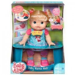 The Commercial For This Baby Wanna Walk Doll Makes It Look Very Good And The Reviews Are Amazing No One Has A Bad Thin Baby Alive Baby Alive Dolls Doll Toys