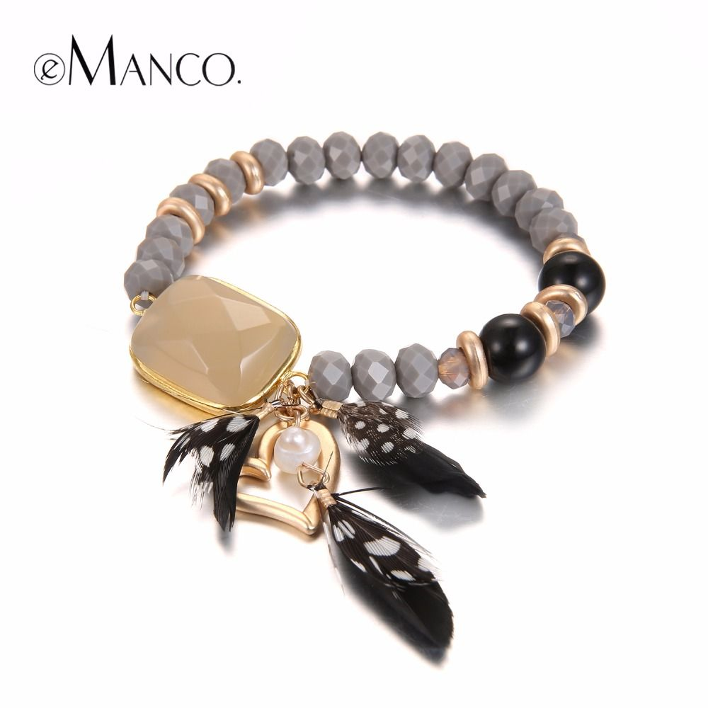 Cheap Bracelets For, Buy Quality Heart Charm Bracelet Directly From China  Bracelets For Women Stone