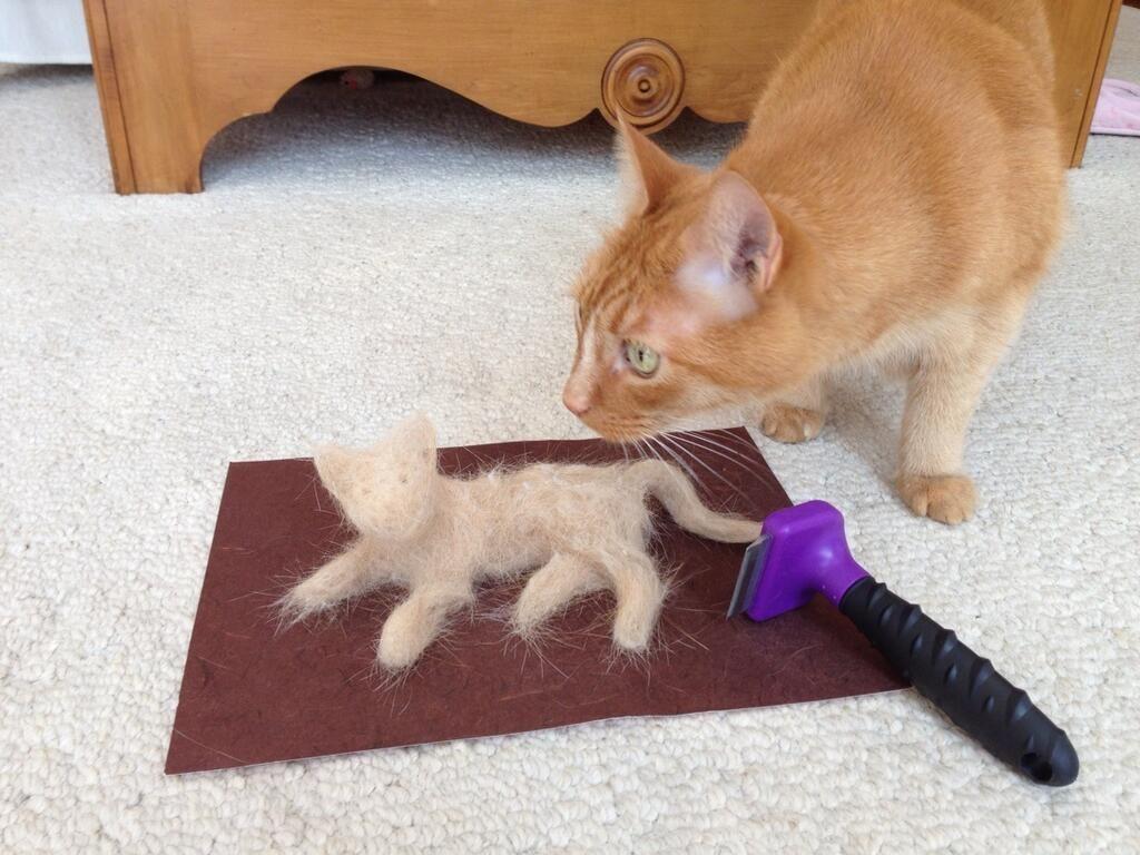 Shedding Hairballs Dog Hair Grooming Tools Furminator Cats Cats And Kittens Animals