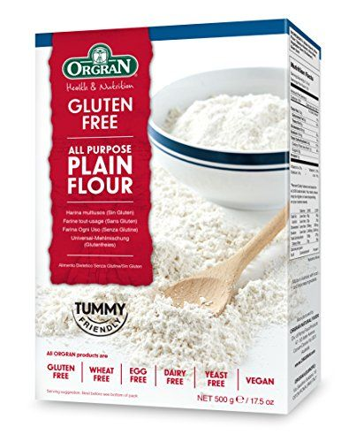 Orgran Gluten Free Plain All Purpose Flour 17 5 Ounce Boxes Pack Of 8 For More Information Visit Image Link Gluten Free Flour Gluten Free Wheat Free