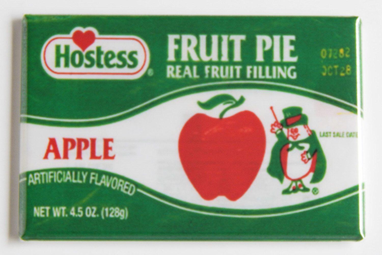 Cherry Fruit Pie FRIDGE MAGNET wrapper