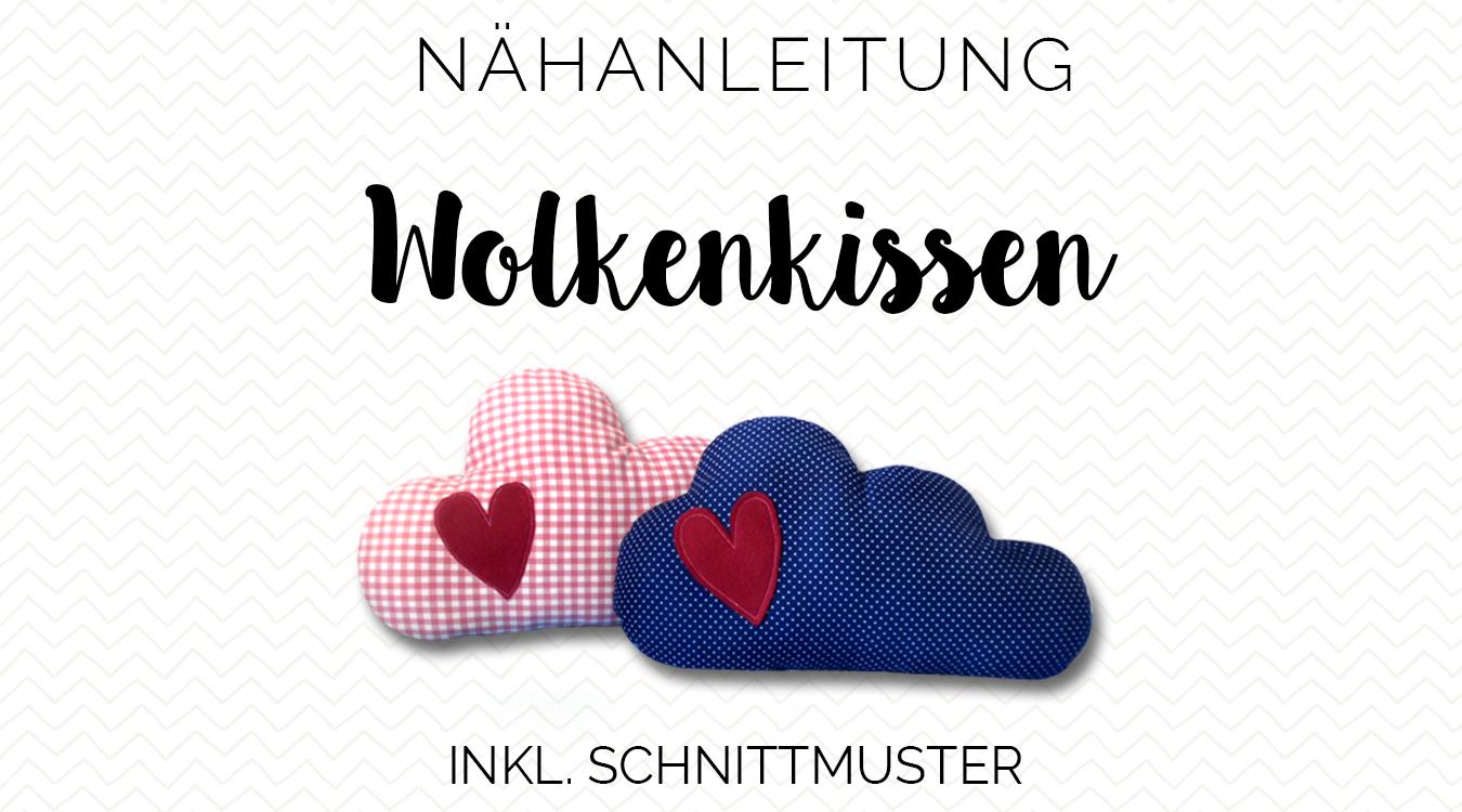 Nähanleitung Freebook Wolkenkissen | Freebook\'s Spielzeug, Puppen ...